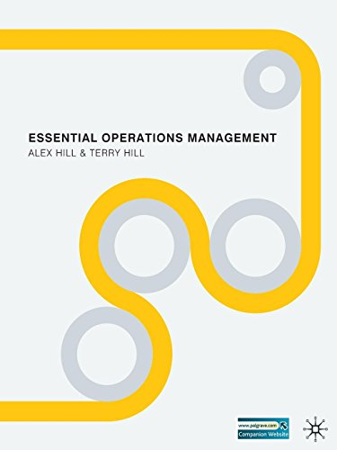 9780230232594: Essential Operations Management
