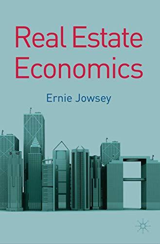 9780230233201: Real Estate Economics