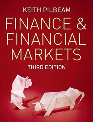9780230233218: Finance and Financial Markets