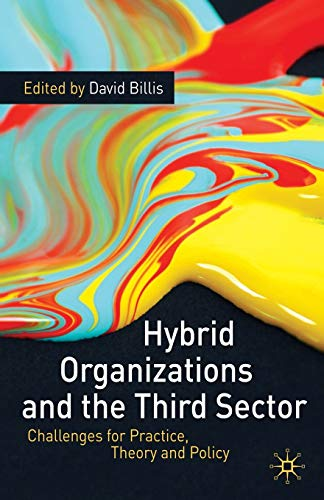 9780230234642: Hybrid Organizations and the Third Sector: Challenges for Practice, Theory and Policy