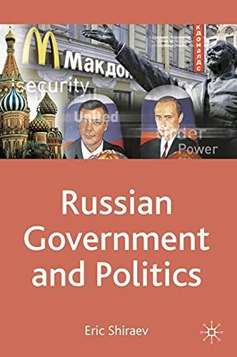 9780230235854: Russian Government and Politics (Comparative Government and Politics)