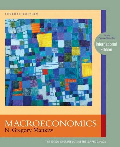Macroeconomics 7e Plus Study Guide (0230236219) by N. Gregory Mankiw