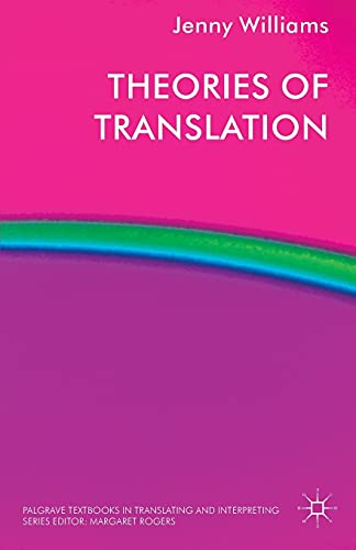 9780230237650: Theories of Translation (Palgrave Studies in Translating and Interpreting)
