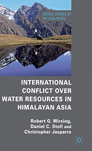 9780230237834: International Conflict over Water Resources in Himalayan Asia