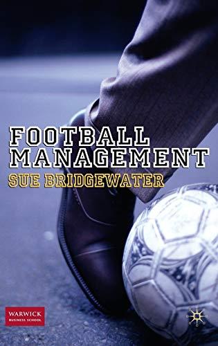 9780230238411: Football Management