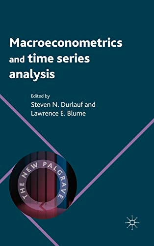 9780230238848: Macroeconometrics and Time Series Analysis (The New Palgrave Economics Collection)