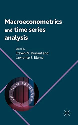 9780230238848: Macroeconometrics and Time Series Analysis (The New Palgrave Economics Collection)