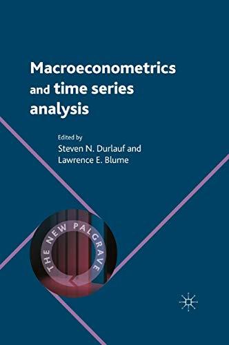 9780230238855: Macroeconometrics and Time Series Analysis (The New Palgrave Economics Collection)