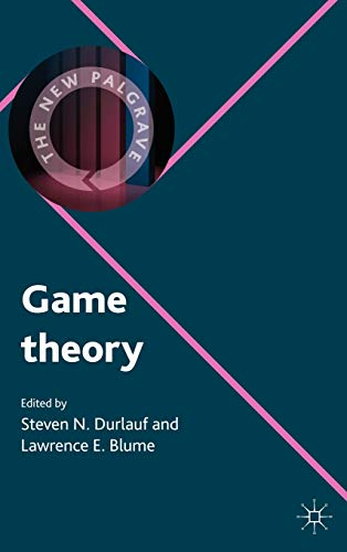 9780230238893: Game Theory (The New Palgrave Economics Collection)