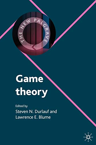 9780230238909: Game Theory (The New Palgrave Economics Collection)