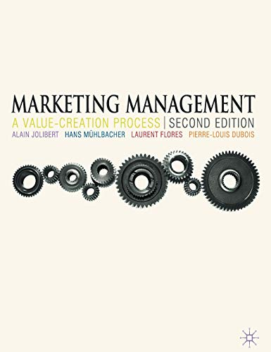 9780230240957: Marketing Management: A Value-Creation Process