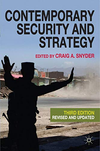 9780230241497: Contemporary Security and Strategy