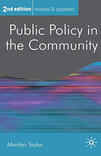 9780230242654: Public Policy in the Community (Public Policy and Politics)