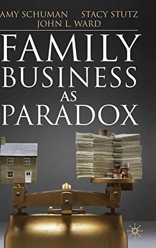 9780230243606: Family Business as Paradox (A Family Business Publication)