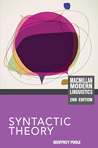 9780230243941: Syntactic Theory (Palgrave Modern Linguistics)