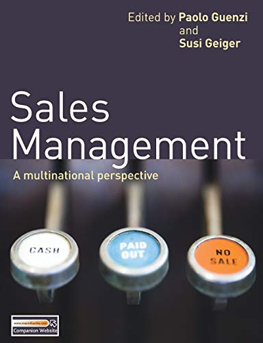 9780230245952: Sales Management: A multinational perspective