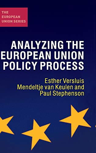 9780230245990: Analyzing the European Union Policy Process (The European Union Series)