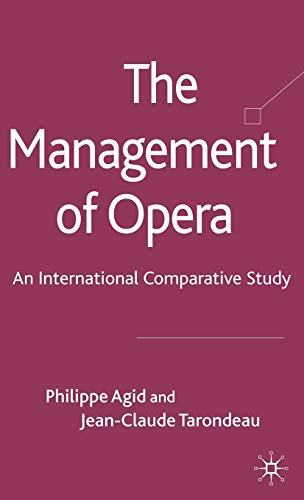 9780230247260: The Management of Opera: An International Comparative Study