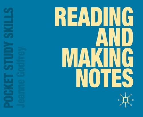 9780230247581: Reading and Making Notes (Pocket Study Skills)