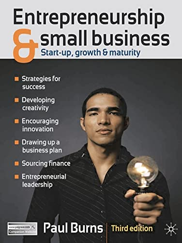 9780230247802: Entrepreneurship and Small Business: Start-up, Growth and Maturity