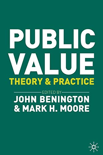 9780230249042: Public Value: Theory and Practice