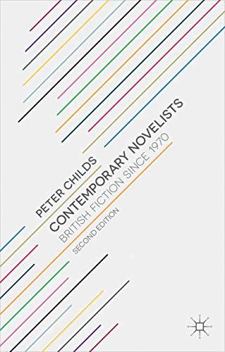 9780230249370: Contemporary Novelists: British Fiction since 1970
