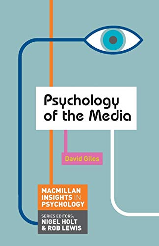 9780230249868: Psychology of the Media (Palgrave Insights in Psychology series)