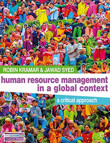 9780230251533: Human Resource Management in a Global Context: A Critical Approach