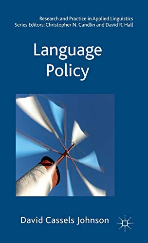 9780230251694: Language Policy (Research and Practice in Applied Linguistics)