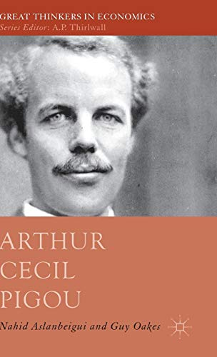 9780230252714: Arthur Cecil Pigou (Great Thinkers in Economics)