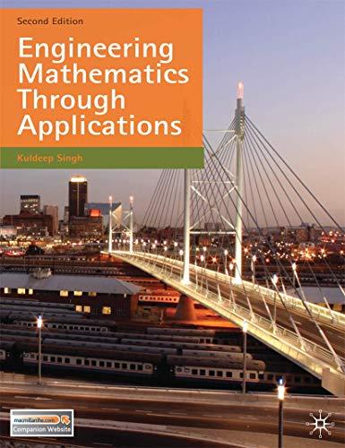 9780230274792: Engineering Mathematics Through Applications