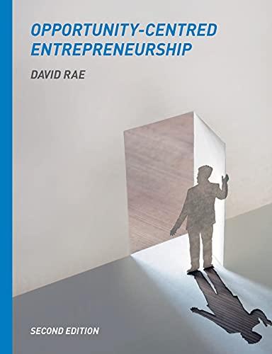 9780230275188: Opportunity-Centred Entrepreneurship