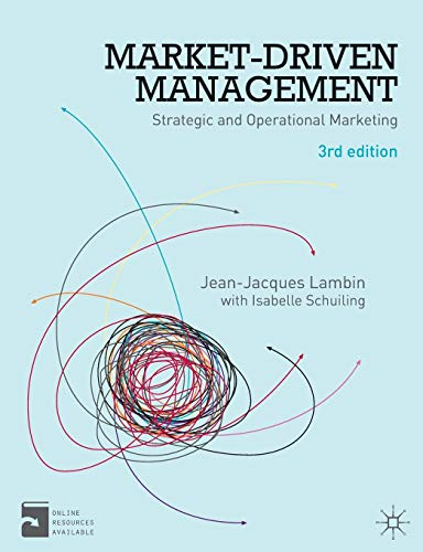9780230276024: Market-Driven Management: Strategic and Operational Marketing