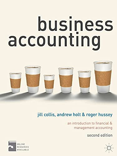 9780230276239: Business Accounting: An Introduction to Financial and Management Accounting