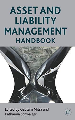 Asset and Liability Management Handbook: Gautam Mitra