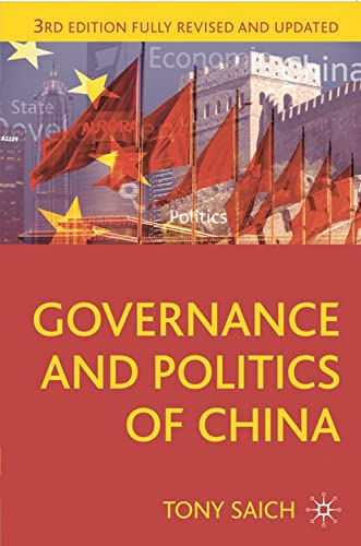 9780230279933: Governance and Politics of China: Third Edition (Comparative Government and Politics)