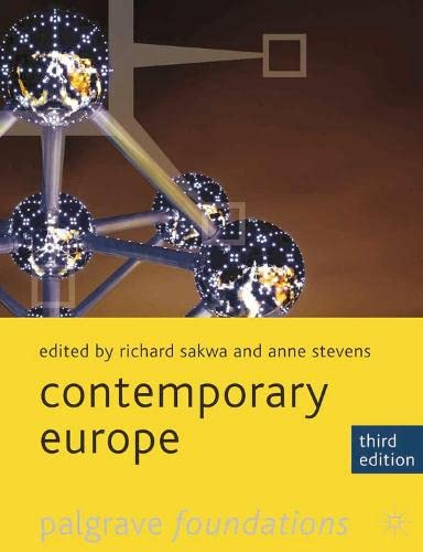 9780230282896: Contemporary Europe (Palgrave Foundations Series)