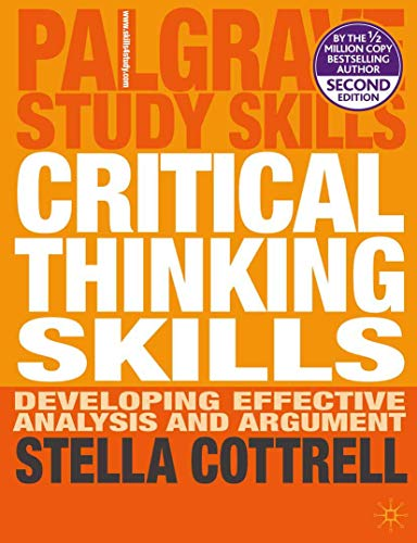 9780230285293: Critical Thinking Skills: Developing Effective Analysis and Argument (Palgrave Study Skills)