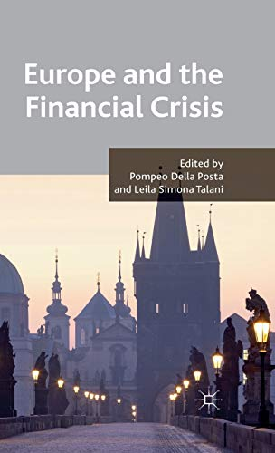 9780230285545: Europe and the Financial Crisis