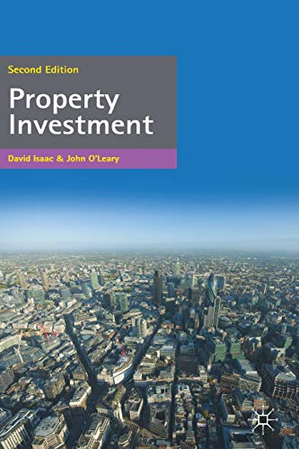 9780230290242: Property Investment (Building and Surveying Series)