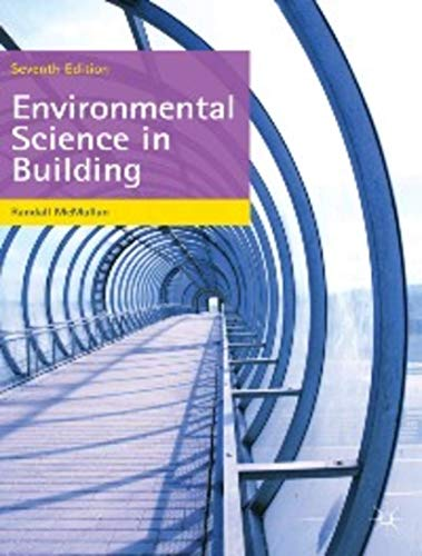 9780230290808: Environmental Science in Building (Building and Surveying Series)