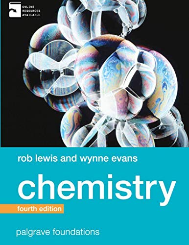 9780230291829: Chemistry (Palgrave Foundations Series)