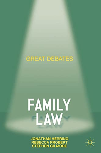 9780230292918: Great Debates in Family Law (Palgrave Great Debates in Law)