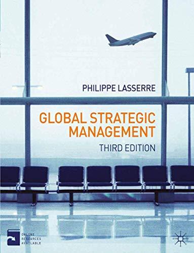 9780230293816: Global Strategic Management