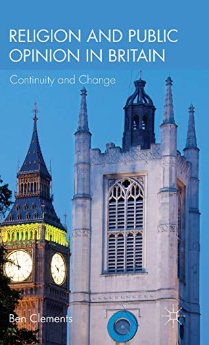 9780230293892: Religion and Public Opinion in Britain: Continuity and Change