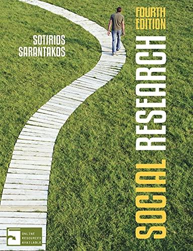 Social Research: Sarantakos, Sotirios