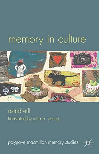 9780230297456: Memory in Culture (Palgrave Macmillan Memory Studies)