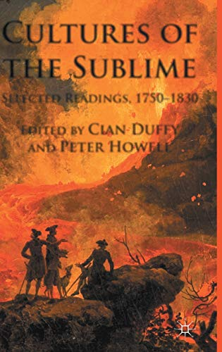 9780230299658: Cultures of the Sublime: Selected Readings, 1750-1830