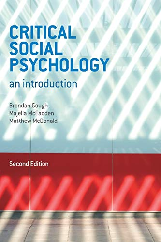 9780230303850: Critical Social Psychology: An Introduction