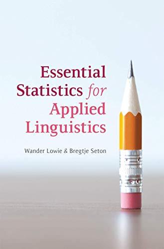 9780230304819: Essential Statistics for Applied Linguistics